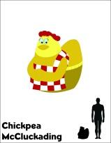 Chickpea McCluckading scale